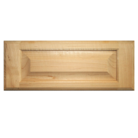 Unfinished Raised Panel Drawer Front Maple